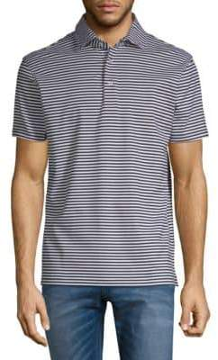 Stampd Cotton Jersey Stripe Polo
