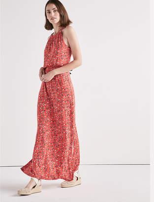 Lucky Brand KNIT FLORAL MAXI DRESS
