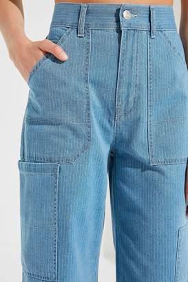 BDG Victoria Striped Carpenter Jean