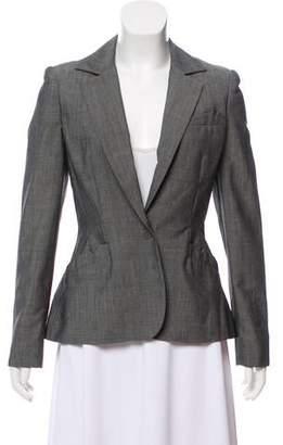 Zac Posen Structured Silk-Blend Blazer