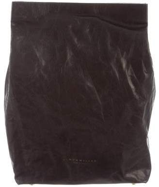 Simon Miller Leather Lunchbag Clutch