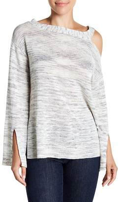 Michael Stars Long Sleeve One-Shoulder Tunic