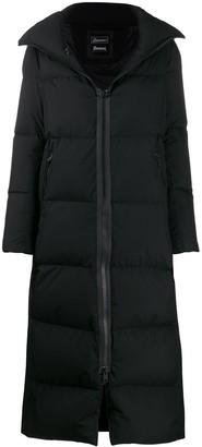 Herno long padded coat