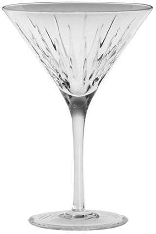 Miller Rogaska By Reed & Barton Crystal Soho Martini Glass 8-oz