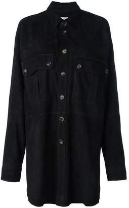Faith Connexion leather shirt jacket