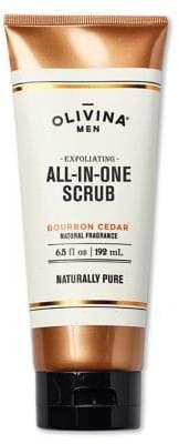 Olivina Bourbon Cedar Exfoliating All-in-One Scrub/6.5 oz