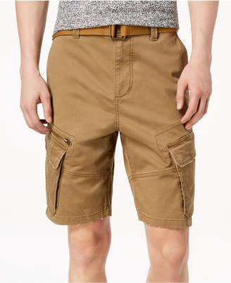 American Rag Men's Belted Slim Cargo Shorts, Created for Macy's
