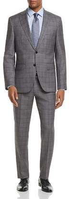 BOSS Johnstons/Lenon Regular Fit Windowpane Suit