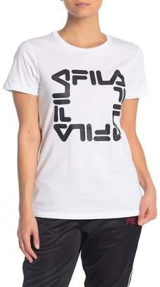 Fila USA Tomi Crew Neck Graphic T-Shirt