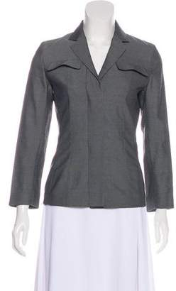 Narciso Rodriguez Notch-Lapel Button-Up Blazer