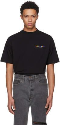 Vetements Black Metal T-Shirt