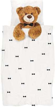 Snurk Teddy Cotton Duvet Cover Set For Crib