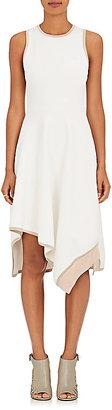 Derek Lam 10 Crosby Women's Compact Knit Asymmetric Dress $595 thestylecure.com