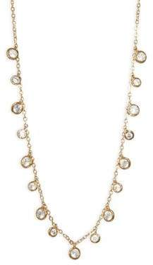 Shaker Swarovski Crystal Choker Necklace