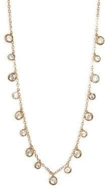 Adriana Orsini Shaker Swarovski Crystal Choker Necklace