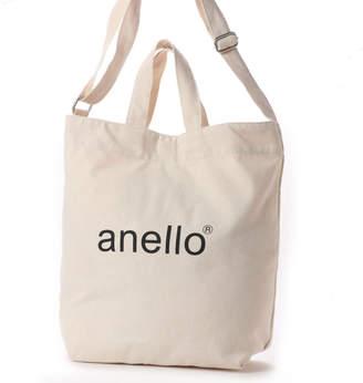 Anello (アネロ) - アネロ anello レディース トートバッグ コットンキャンバス 2WAYトートバッグ AI-C2551