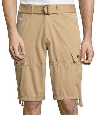 ECKO UNLIMITED Ecko Unltd Microfiber Cargo Shorts $50 thestylecure.com
