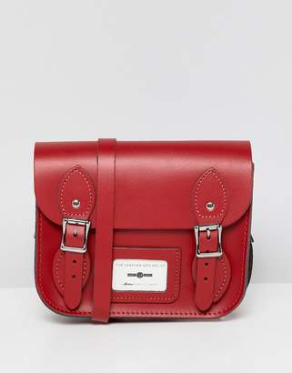 Leather Satchel Company THE LEATHER SATCHEL COMPANY double buckle mini satchel