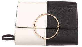 Milly Leather Ring Crossbody