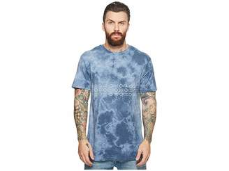 VISSLA Thresher Tie-Dye Short Sleeve Pocket T-Shirt Top
