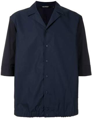 Neil Barrett Boxy-fit Cuban shirt