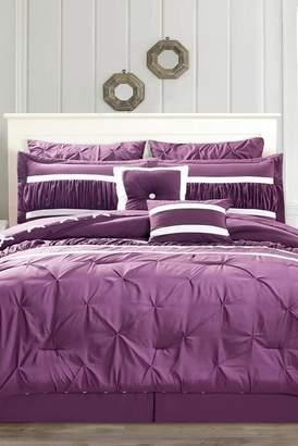 Duck River Textile Marlin 10-Piece Queen Comforter Set - Plum