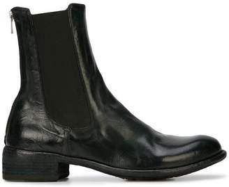 Officine Creative back zip ankle boots