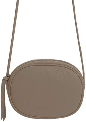 Goodnight Macaroon 'Alexis' Oval Cross-Body Shoulder Bag (6 Colors)
