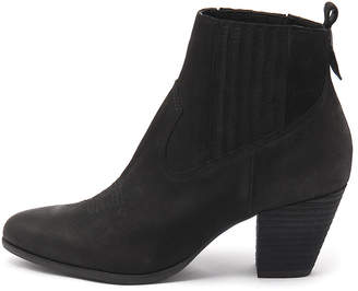 Django & Juliette Fanger Black Boots Womens Shoes Casual Ankle Boots