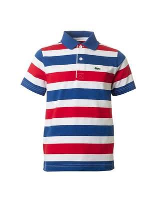 Lacoste Sport Striped Jersey Polo