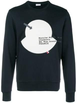Moncler mascot embellished sweatshirt