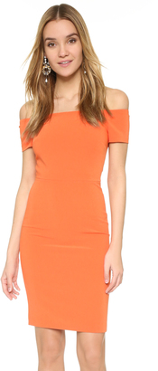 alice + olivia Aleah Fitted Off The Shoulder Dress $330 thestylecure.com