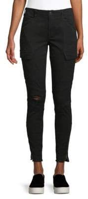 J Brand Houlihan Ripped Cargo Ankle Pants