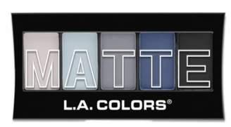 (6 Pack) L.A. Colors Matte Eyeshadow - Blue Denim