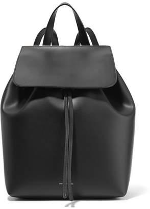 Mansur Gavriel - Leather Backpack - Black $895 thestylecure.com