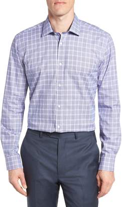 Ted Baker Royaltt Trim Fit Plaid Dress Shirt