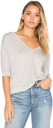 Chaser Double V Dolman Tee $52 thestylecure.com