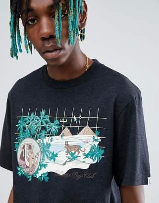 Billionaire Boys Club Landscape Grid T-Shirt In Black