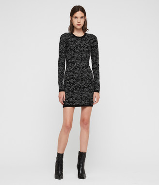 AllSaints Lex Rose Dress