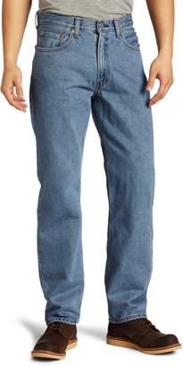 Levi's Men's 550 Relaxed Fit Jean, Medium Stonewash, 31x34
