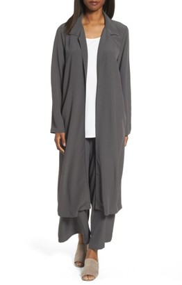 Women's Eileen Fisher Open Front Duster Jacket $358 thestylecure.com