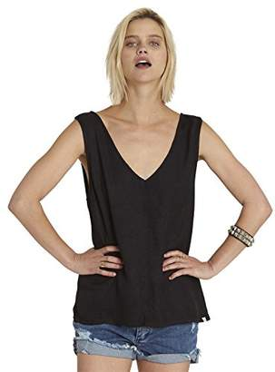 Element Junior's Longing Woven Tank Top with Exposed Back