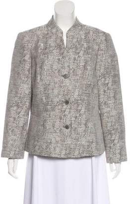Lafayette 148 Metallic Tweed Jacket