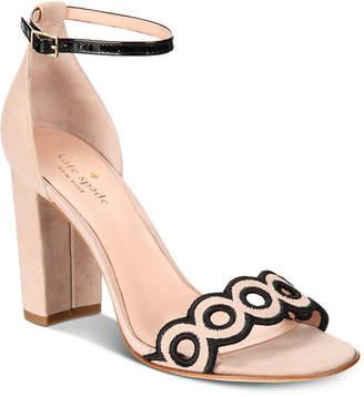 Kate Spade Orson Block-Heel Sandals