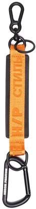 Heron Preston leather key ring