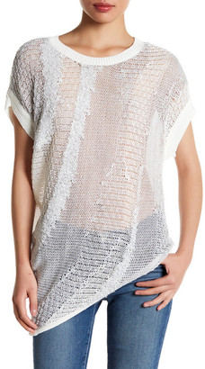 Inhabit Asymmetric Knit Pullover $264 thestylecure.com