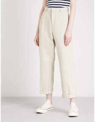 Tommy Jeans '90s slim-fit straight high-rise cotton chinos