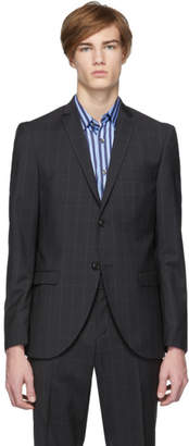 Tiger of Sweden Grey Check Wool S. Jile Blazer