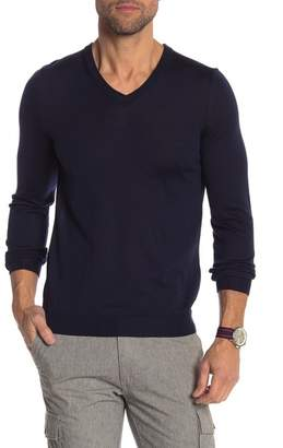 BOSS Melba Slim Fit Wool V-Neck Sweater