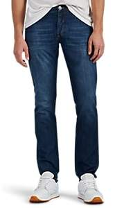 Brunello Cucinelli MEN'S SELVEDGE STRAIGHT-LEG JEANS